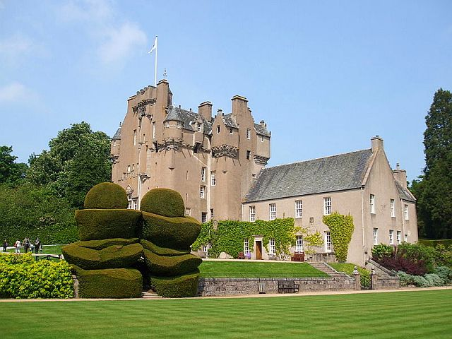 Crathes Castle, Aberdeenshire copyright Christine Jewell