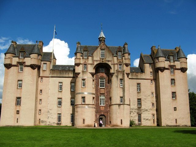 Fyvie Castle, Aberdeenshire copyright Mike & Kirsty Grundy