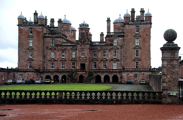 Drumlanrig Castle, Dumfries & Galloway copyright Lynne Kirton