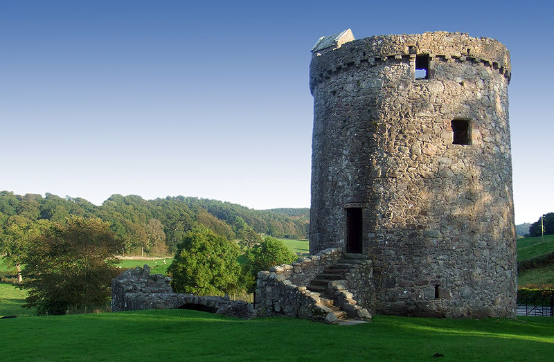 Orchardton Tower, Dumfries & Galloway - Wikimedia Commons