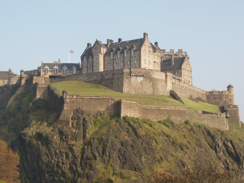 Edinburgh Castle, Edinburgh & The Lothians copyright Stuart Caie