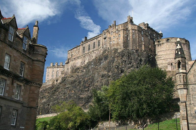 Edinburgh Castle, Edinburgh & The Lothians copyright Klaus Hermesen