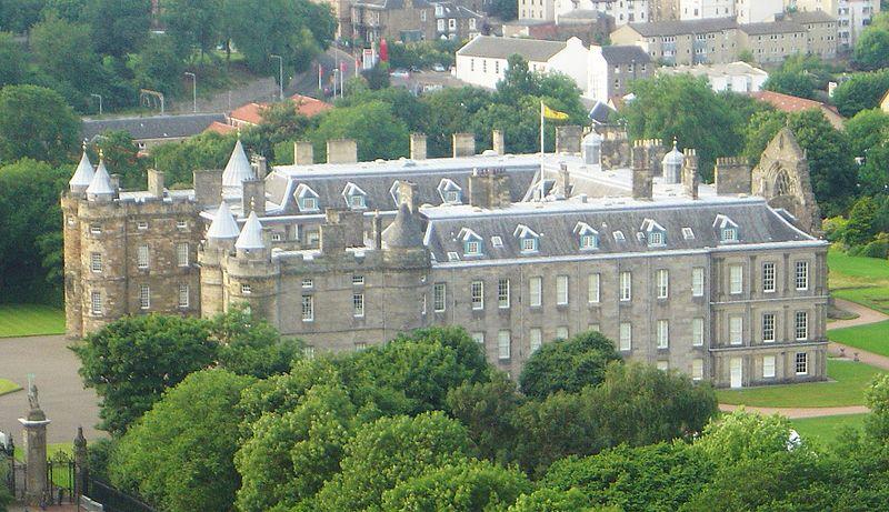 The Palace Of Holyroodhouse Edinburgh Amp The Lothians