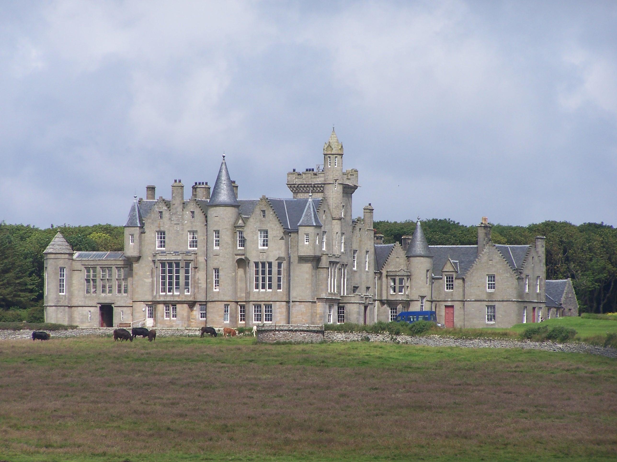 Balfour Castle, Hebrides & Isles copyright Purplebaron