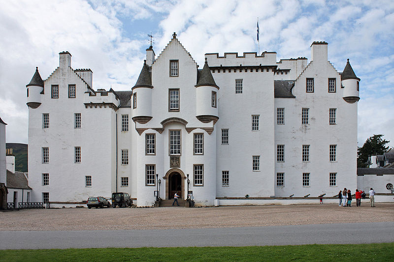 Blair Castle, Perthshire copyright Guillaume Piolle