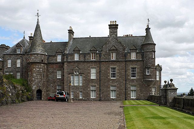 Dunkeld House (site of) | Castle in Dunkeld and Dowally ... |Perthshire Scotland History