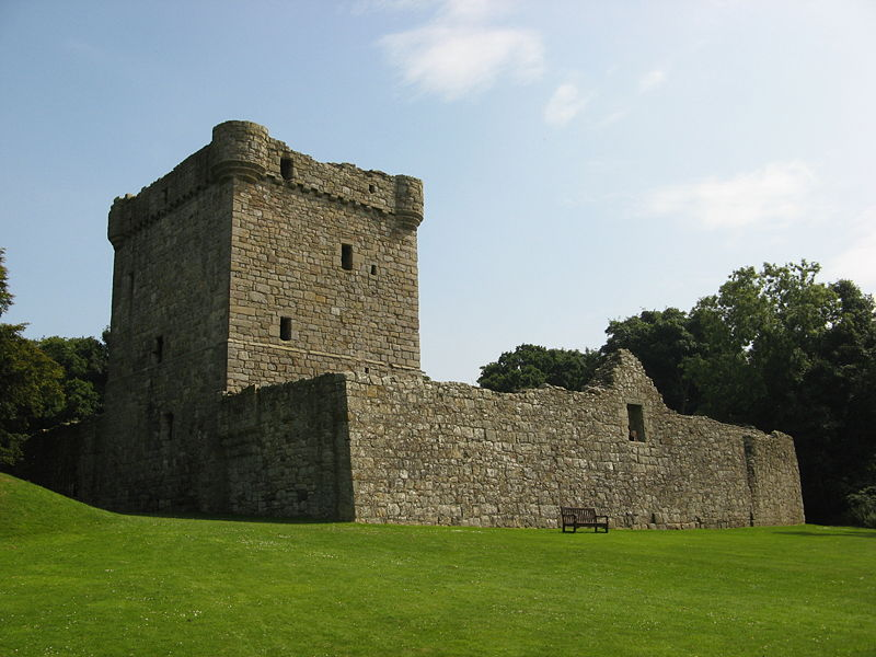 Lochleven Castle, Perthshire copyright Jonathan Oldenbuck