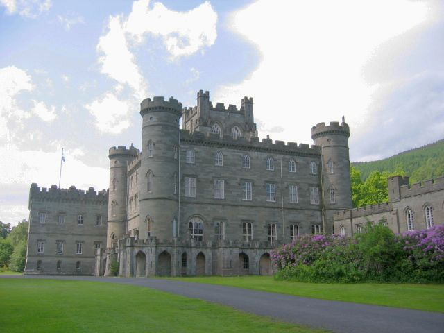 Taymouth Castle, Perthshire copyright Dudesleeper