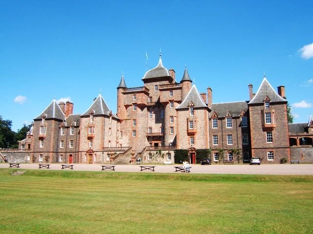 Thirlestane Castle, Scottish Borders copyright Martin Thirkettle