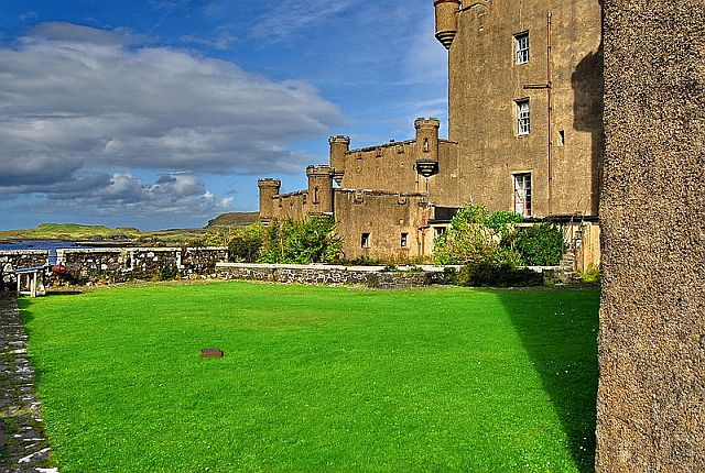 Dunvegan Castle, Scottish Highlands copyright Mihael Grmek