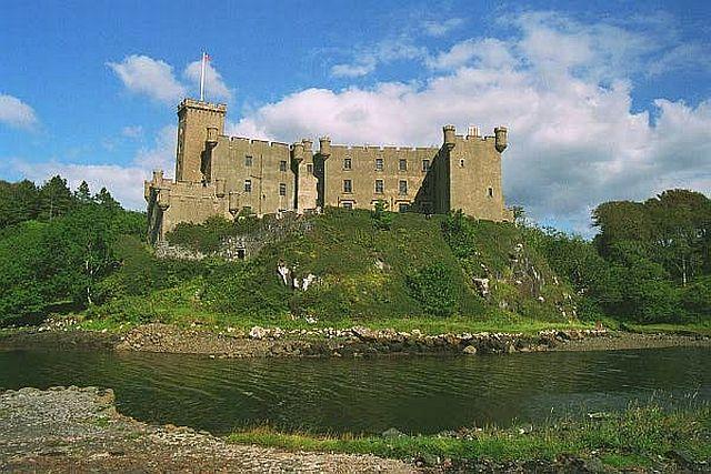 Dunvegan Castle, Scottish Highlands copyright Pam Brophy