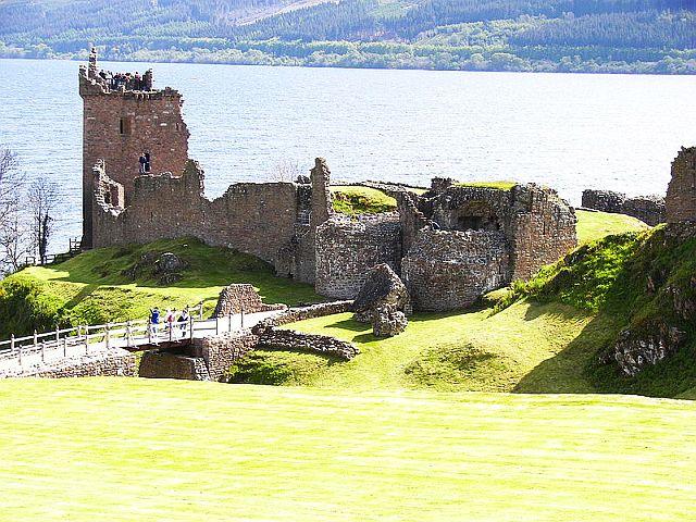 Urquhart Castle, Scottish Highlands copyright Wknight94