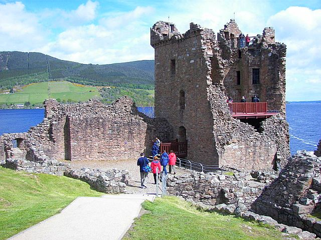 Urquhart Castle, Scottish Highlands copyright Wknight94